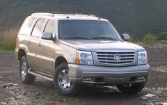 2003 Cadillac Escalade exterior
