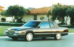 1992 Cadillac Fleetwood exterior