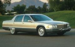 1996 Cadillac Fleetwood exterior