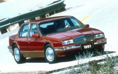 1990 Cadillac Seville exterior