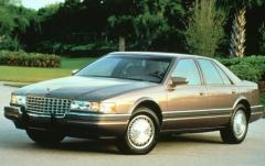 1993 Cadillac Seville exterior