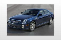 2008 Cadillac STS exterior