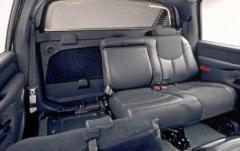 2003 Chevrolet Avalanche interior