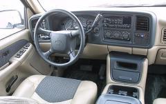 2005 Chevrolet Avalanche interior