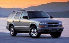 2002 Chevrolet Blazer exterior