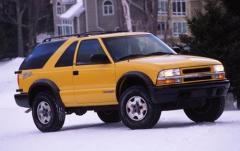 2003 Chevrolet Blazer exterior