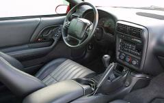 2002 Chevrolet Camaro interior