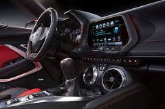 2016 Chevrolet Camaro interior