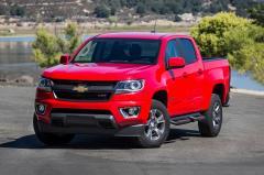 2017 Chevrolet Colorado exterior