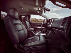 2018 Chevrolet Colorado interior