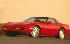 1993 Chevrolet Corvette exterior