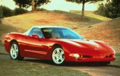 1998 Chevrolet Corvette exterior