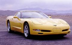 2000 Chevrolet Corvette exterior