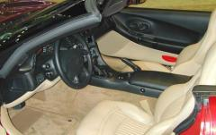 2002 Chevrolet Corvette interior