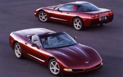 2003 Chevrolet Corvette exterior
