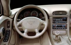 2003 Chevrolet Corvette interior