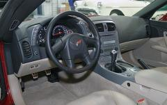 2007 Chevrolet Corvette Coupe LT1 interior