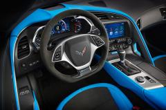 2017 Chevrolet Corvette interior