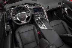 2018 Chevrolet Corvette interior