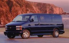 2002 Chevrolet Express exterior
