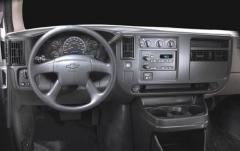 2003 Chevrolet Express interior
