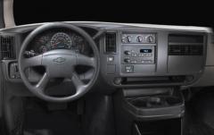 2005 Chevrolet Express interior