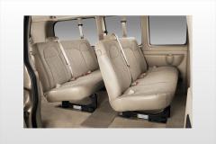 2017 Chevrolet Express interior