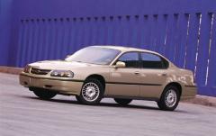 2001 Chevrolet Impala exterior