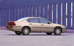 2002 Chevrolet Impala exterior