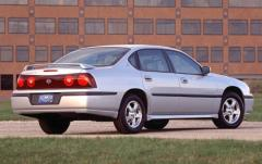 2003 Chevrolet Impala exterior