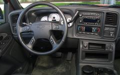 2005 Chevrolet Silverado 1500 interior