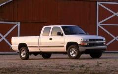 2002 Chevrolet Silverado 2500 exterior