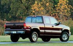 2001 Chevrolet Silverado 2500HD exterior