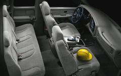 2001 Chevrolet Silverado 2500HD interior
