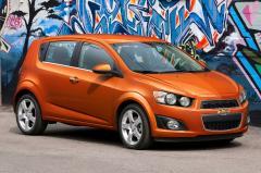 2012 Chevrolet Sonic exterior