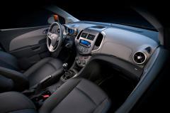 2014 Chevrolet Sonic interior