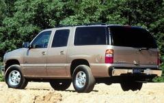 2002 Chevrolet Suburban 1500 2WD exterior