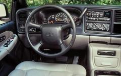 2002 Chevrolet Suburban 1500 2WD interior