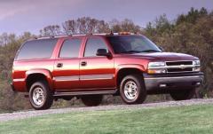 2003 Chevrolet Suburban exterior