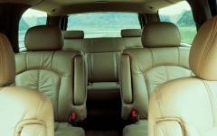 2003 Chevrolet Suburban interior
