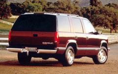 1997 Chevrolet Tahoe exterior