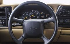 2001 Chevrolet Tahoe interior
