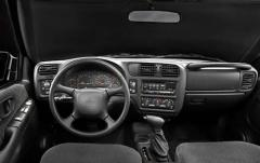 2003 Chevrolet TrailBlazer interior