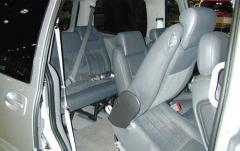 2003 Chevrolet Venture interior