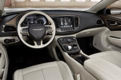 2015 Chrysler 200 C AWD interior
