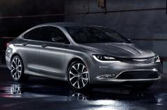 2015 Chrysler 200 C AWD exterior