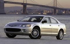 2003 Chrysler Sebring exterior