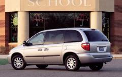 2002 Chrysler Voyager exterior