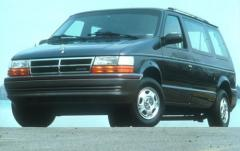 1991 Dodge Caravan exterior