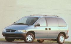 1997 Dodge Caravan exterior